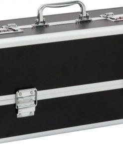 Lockable Large Vibrator Case Black