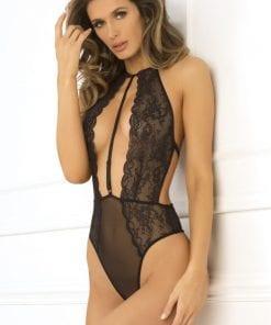 Hot Pursuit Lace Bodysuit
