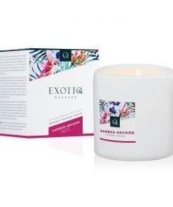 Exotiq Massage Candle Bamboo Orchids 200g