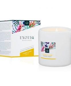Exotiq Massage Candle Ylang Ylang 200g