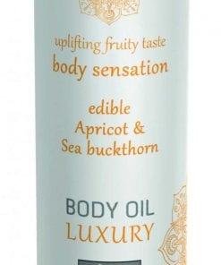 Shiatsu Luxury Body Oil Edible Apricot and Sea Buckthorn