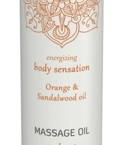 Shiatsu Massage Oil Extase Orange And Sandalwood Oil 100ml