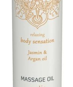 Shiatsu Massage Oil Erotic Jasmin And Argan Oil 100ml