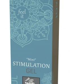 Shiatsu Clitoral Stimulation Gel Mint 30ml