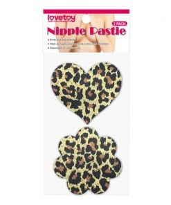 Leopard Sexy Nipple Pasties Twin Pack